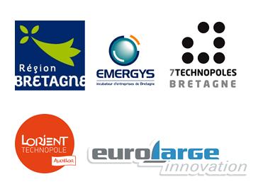 5 logos institutionnels